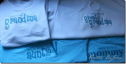 baby news shirts