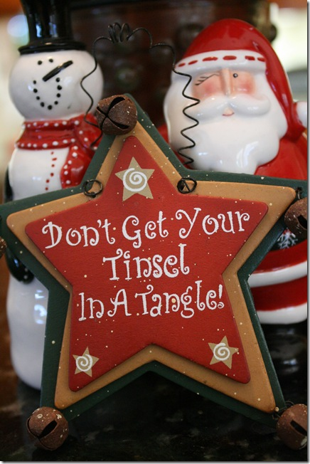 tinsel in a tanlge