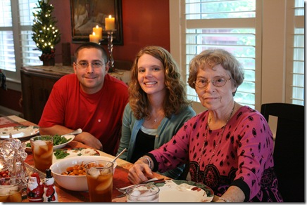 Mike & V with Grams