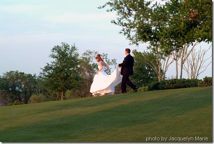 mike & v's wedding day