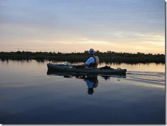 Mark kayaking