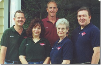 Mark DeJong and staff