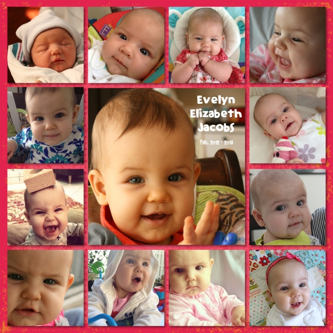 evelyn's collage